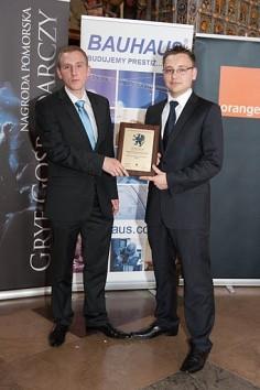 Pomorski GRYF GOSPODARCZY 2010 nominacja dla Web24