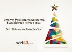 Świąteczne życzenia od Web24