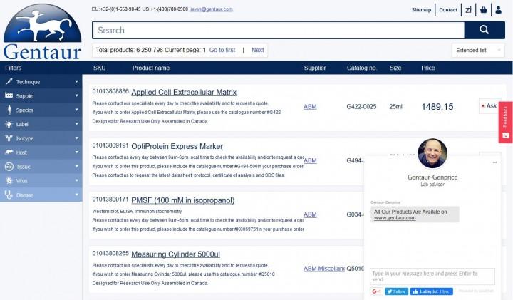 Gentaur.com – realizacja Web24.com.pl