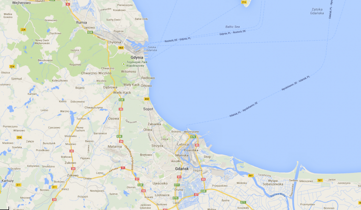 Od 7 marca 2011 mieścimy się na Górniczej 43 w Gdyni